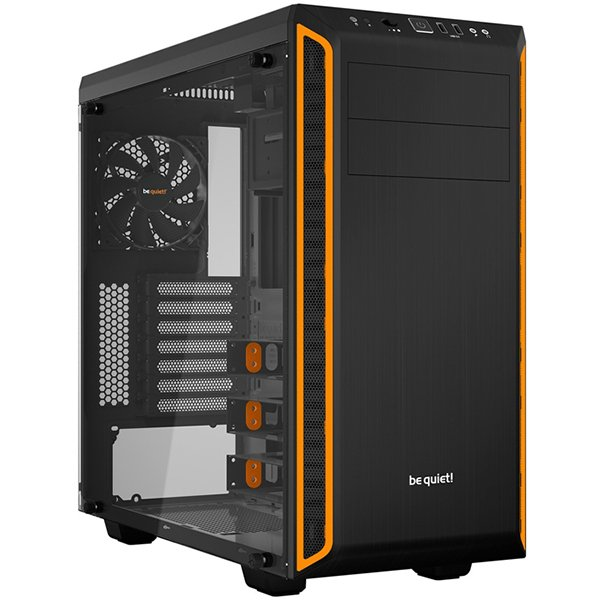 PC Chassis BE QUIET BGW20 be quiet! PURE BASE 600 Window Orange
