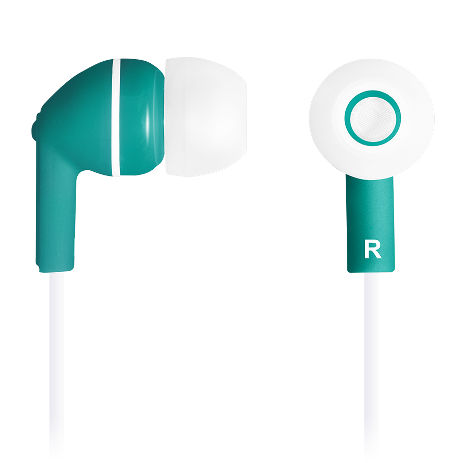 Multimedia - Headset CANYON CNS-CEP03G Stereo earphones with micophone, Green