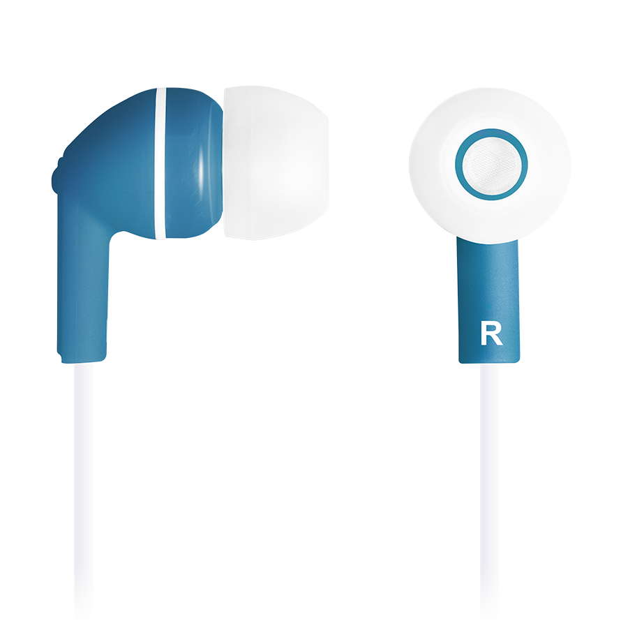 Multimedia - Headset CANYON CNS-CEP03BL Stereo earphones with micophone, Dark blue