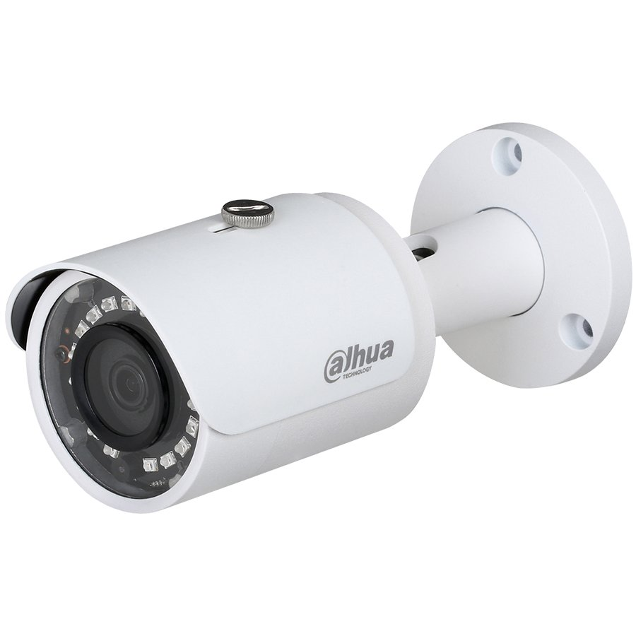 """IP Camera DAHUA ELECTRONIC IPC-HFW1420S Dahua IP camera 4MPix, Day&Night, 1/3"""" CMOS, 2688×1520 Effective Pixels, 20fps@1520P, Focal Length 3.6mm, IR Distance up to 30m, 0.31Lux/F2.2 Colour, 0Lux/F2.2 IR on, IP 67 outdoor installation, PoE, 4.3W"""