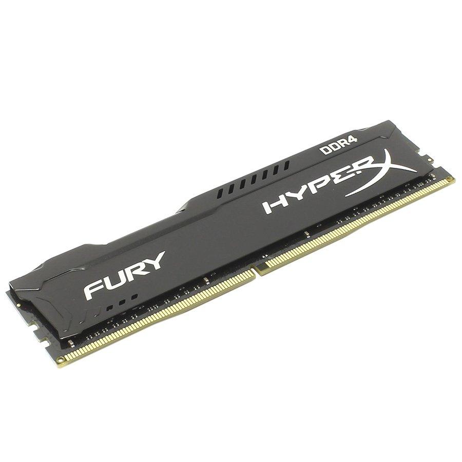 Memory ( Desktop ) KINGSTON HX426C16FB/16 16GB 2666MHz DDR4 CL16 DIMM HyperX FURY Black