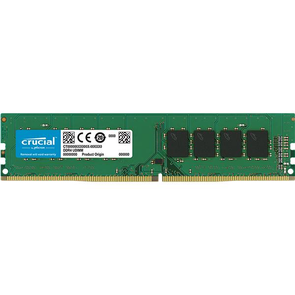 Memory ( Desktop ) CRUCIAL CT8G4DFS8266 Crucial DRAM 8GB DDR4 2666 MT/s (PC4-21300) CL19 SR x8 Unbuffered DIMM 288pin