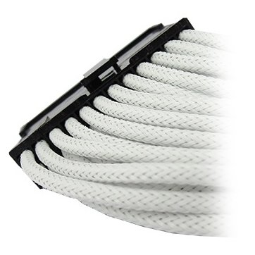 Cable GELID SOLUTIONS CA-24P-02 GELID 24pin Power extension cable 30cm individually sleeved UV WHITE