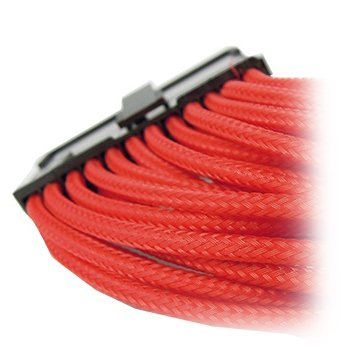 Cable GELID SOLUTIONS CA-24P-04 GELID 24pin Power extension cable 30cm individually sleeved RED