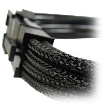 Cable GELID SOLUTIONS CA-8P-01 GELID 8pin Power extension cable 30cm individually sleeved black