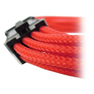 Cable GELID SOLUTIONS CA-8P-04 GELID 8pin Power extension cable 30cm individually sleeved RED