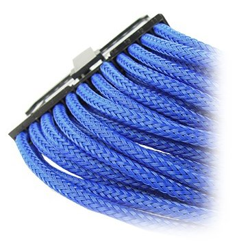Cable GELID SOLUTIONS CA-24P-03 GELID 24pin Power extension cable 30cm individually sleeved BLUE
