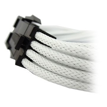 Cable GELID SOLUTIONS CA-8P-06 GELID 6+2pin VGA PCI-E 30cm individually sleeved WHITE