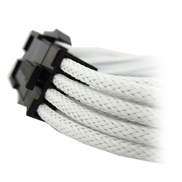 Cable GELID SOLUTIONS CA-8P-02 GELID 8pin Power extension cable 30cm individually sleeved UV White