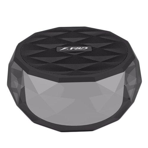 "Multimedia - Speaker FENDA W3 Multimedia Bluetooth Speaker F&D W3 - Power output 3W, 2"" full range Neodymium driver , Bluetooth 4.1, 380Hz - 20KHz, 360 degree sound field (micro SD card, 3.5mm Aux input, Li-ion battery, Black"