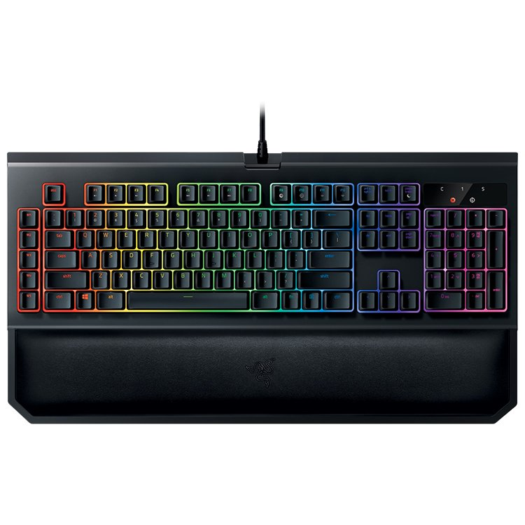 Input Devices - Keyboard Box RAZER RZ03-02031600-R3M1 Razer BlackWidow Chroma V2 - Mechanical Gaming Keyboard- US Layout(ORANGE SWITCH)