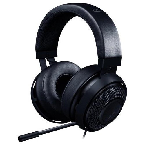 Multimedia - Headset RAZER RZ04-02050400-R3M1 Razer Kraken Pro V2 – Analog Gaming Headset – Black –OVAL Ear Cushions. 50 mm audio drivers ,Unibody aluminum frame ,Fully-retractable microphone with in-line remote,3.5 mm combined jack.
