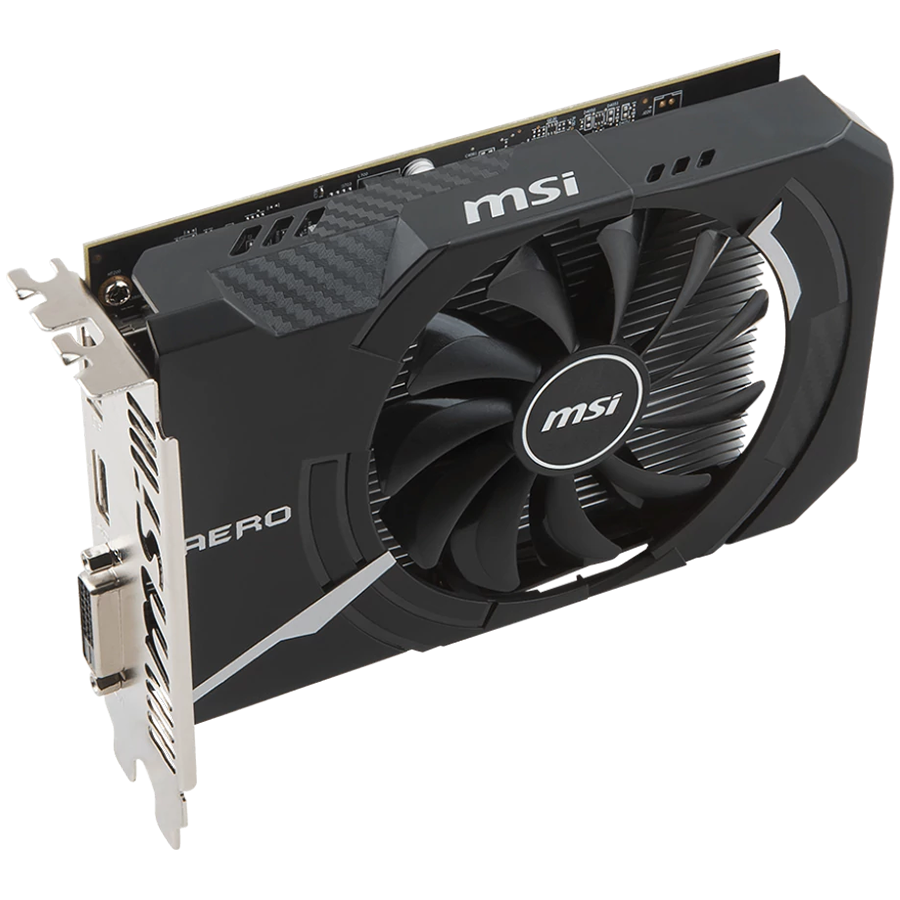 Video Card MSI RX_560_AERO_ITX_4G_OC MSI Video Card AMD Radeon RX 560 OC GDDR5 4GB/128bit, 1196MHz/7000MHz, PCI-E 3.0 x16, DP, HDMI, DVI-D, Torx fan Cooler (Double Slot) Retail