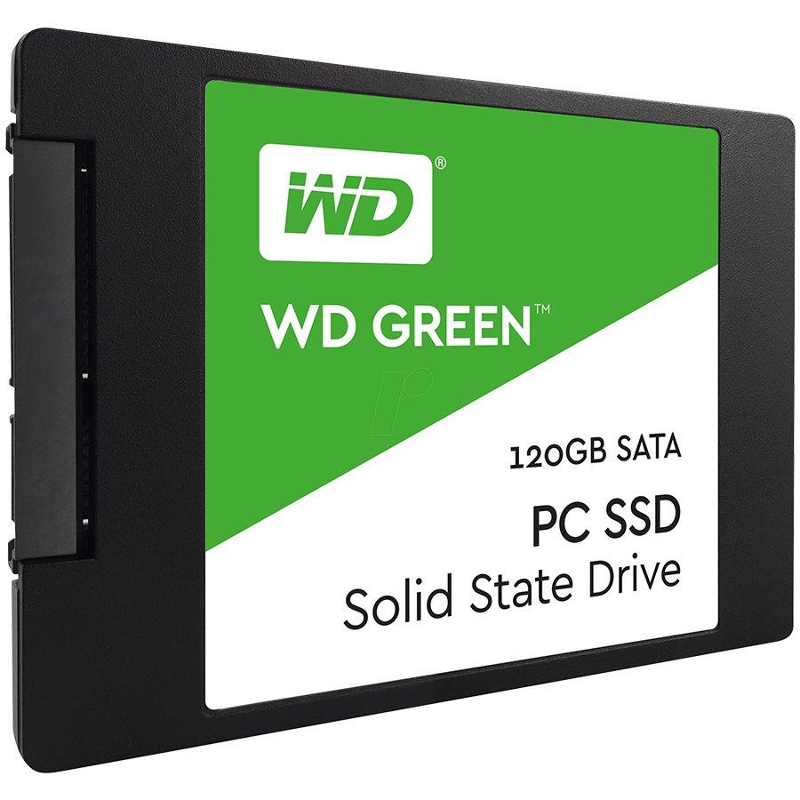 """SSD Client WESTERN DIGITAL WDS120G1G0A SSD WD Green (2.5"""", 120GB, SATA III 6 Gb/s)"""