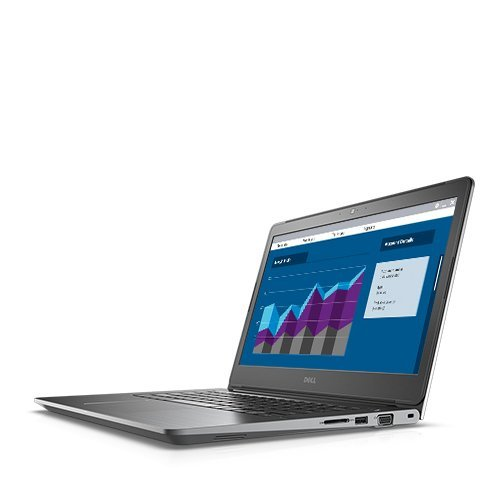 "PC Notebook Commercial DELL N019VN5468EMEA01_1801_UBU-14 Dell Vostro 14 5468, 14.0"" (1366 x 768) Anti-Glare, Core i5-7200U (3M Cache, up to 3.1 GHz), Fingerprint Reader, 4GB DDR4 2400MHz, 500GB HDD 5400rpm, 65W AC Adapter, 42WHr, 3-Cell Battery, Intel HD"