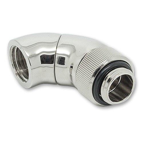 Cooling System EKWB EKWB3831109845295 EK-AF Angled 2×45° G1/4 Nickel