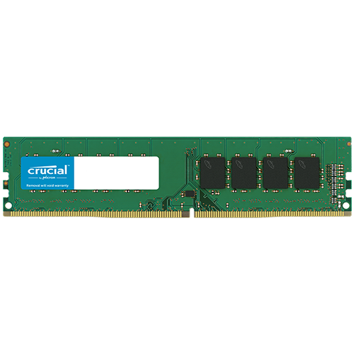 Memory ( Desktop ) CRUCIAL CT16G4DFD8266 CRUCIAL 16GB DDR4-2666 UDIMM, CL=19, Dual Ranked, x8 based, Unbuffered, NON-ECC, 1.2V