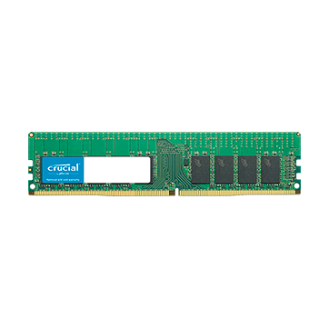 Memory ( Server ) CRUCIAL CT16G4RFD8266 CRUCIAL 16GB DDR4-2666 RDIMM, CL=19, Dual Ranked, x8 based, Registered, ECC, DDR4-2666, 1.2V, 2048Meg x 72