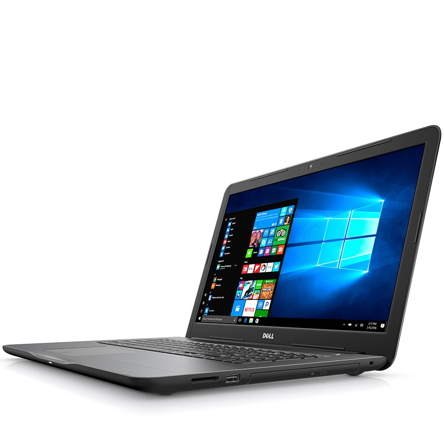 PC Notebook Consumer DELL DI5767I341A4UC2CIS-14 Notebook DELL Inspiron 17,5767 17.3(1600 x 900) Anti-Glare,i3-6006U up to 2.00 GHz,RAM 4GB,HDD 1TB,AMD R7 M445 4G GDDR5,Ubuntu,Keyboard(Bulgarian) (Non Backlit), DVD, Black, 2Y CIS