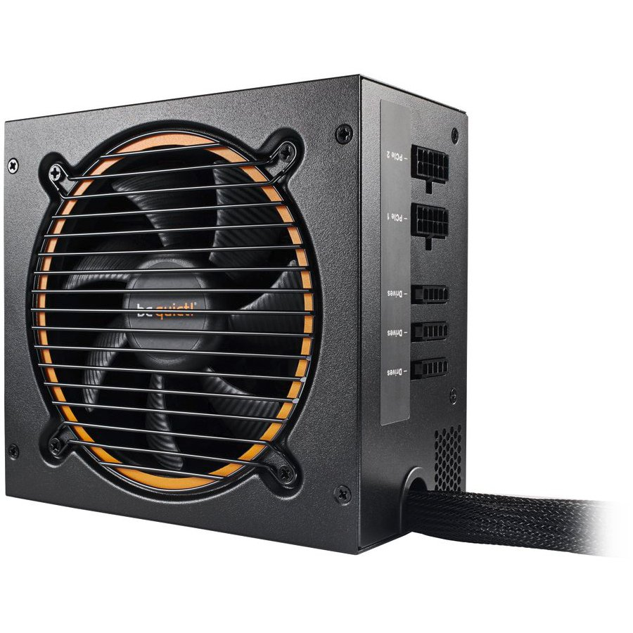 Power Supply Unit BE QUIET BN278 be quiet! PURE POWER 10 600W CM - 80 Plus Silver, Silent Wings, Cable Management, 3 Years Warranty