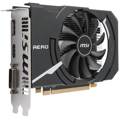 Video Card MSI RX_550_AERO_ITX_2G_OC MSI Video Card AMD Radeon RX 550 OC GDDR5 2GB/128bit, 1082MHz/7000MHz, PCI-E 3.0 x16, DP, HDMI, DVI-D, Sleeve Fan Cooler(Double Slot) Retail