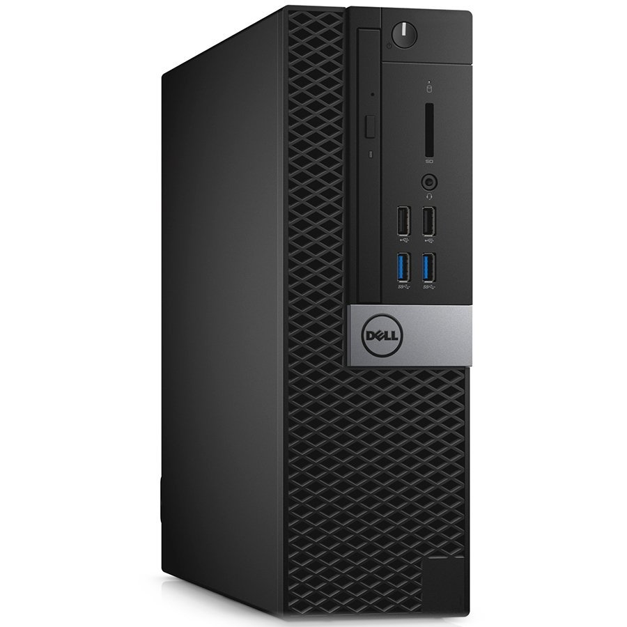 Desktop Computer DELL N009O3046SFF_WIN-14 Dell OptiPlex 3046 SFF, Core i3-6100 (Dual Core, 3MB, 4T, 3.7GHz, 65W), 4GB (1x4G) 2133MHz DDR4, 500GB 7200rpm, MS116, KB216, 180W 85% eff (80Plus Bronze), Windows 10 Pro, 3Y NBD