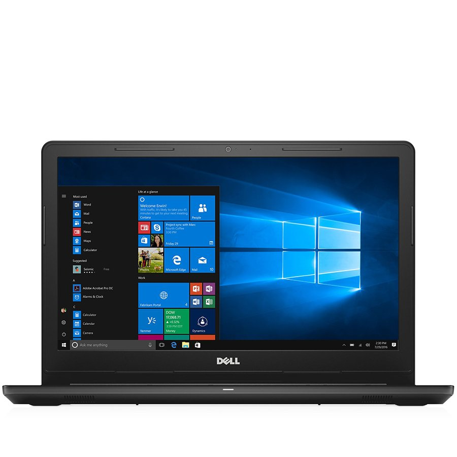 "PC Notebook Consumer DELL DI3567FHDI341A2UCIS2-14 Notebook DELL Inspiron 15,3567 15.6""FHD(1920 x1080) Anti-Glare LED-Backlit Display,i3-6006U 3MB Cache,2.00 GHz),RAM 4GB,HDD 1TB,AMD R5 M430 2GB DDR3,Ubuntu,Internal Bulgarian Qwerty Keyboard,DVD,Black,2Y C"