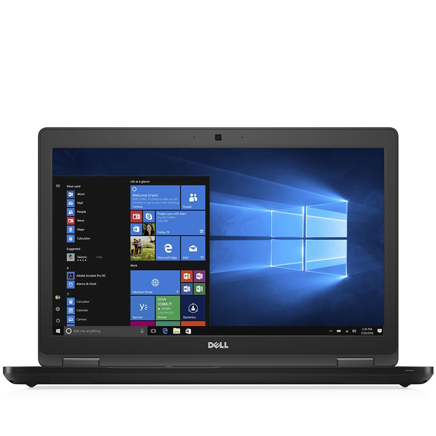 PC Notebook Commercial DELL N002L558015EMEA_UBU-14 Dell Latitude 5580, 15.6-inch FHD (1920x1080), Intel Core i5-7440HQ, 8GB (1x8GB) 2133MHz DDR4, 256GB SSD, noDVD, Intel HD Graphics, Wifi 8265AC, Blth 4.2, Backlit Keybd, Fingerprint, SmartCard, 4-cell 68W