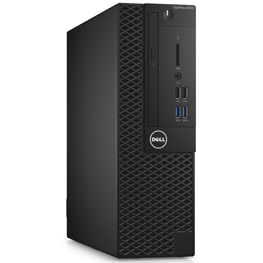Desktop Computer DELL S030O3050SFFCEE500_WIN-14 DELL Optiplex 3050 SFF, Intel Core i5 7500 (3.4-3.8GHz), Intel HD 630, 1x8GB DDR4, 500GB HDD, DVD+/-RW, USB Optical mouse, USB BG keyboard, VGA video port, Win 10 Pro, 3y NBD