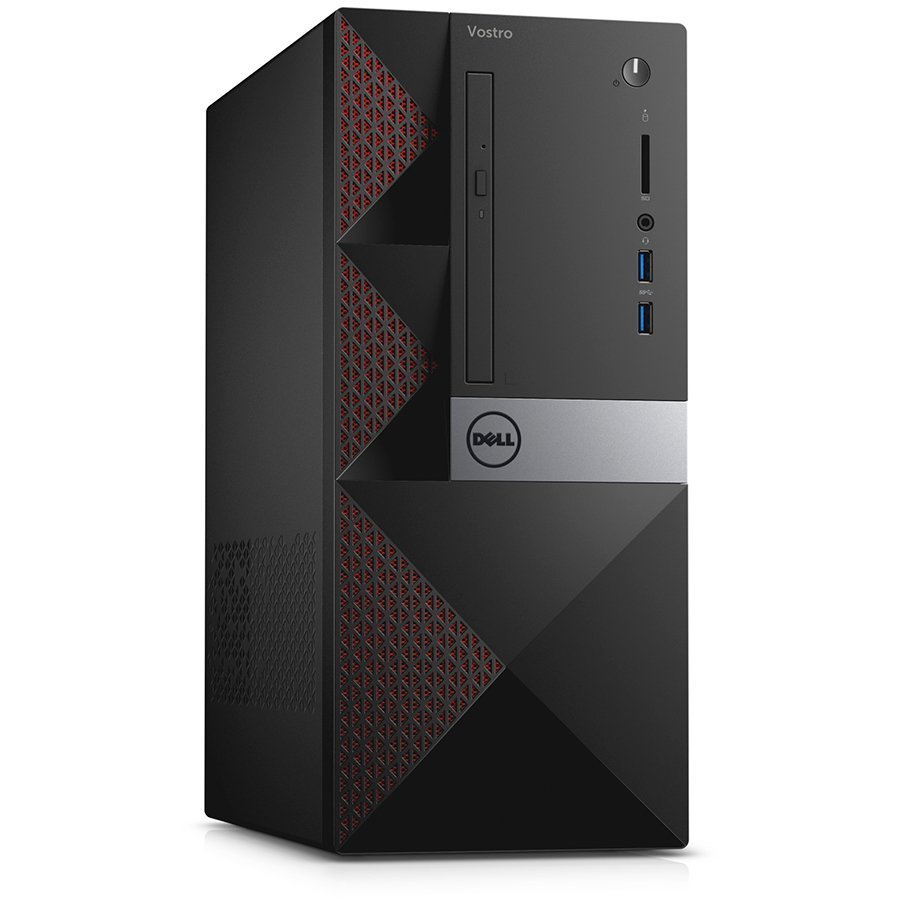 Desktop Computer DELL N219VD3668EMEA01_WIN-14 Dell Vostro 3668, Intel Core i5-7400 (6MB Cache, up to 3.50 GHz), 8GB (1x8GB) DDR4 2400MHz, 1TB SATA (7200rpm), GeForce GT 710 2GB GDDR3, DVD+/-RW, WiFi 802.11bgn, Bluetooth 4.0, Dell USB Mouse, Dell KB216 Key