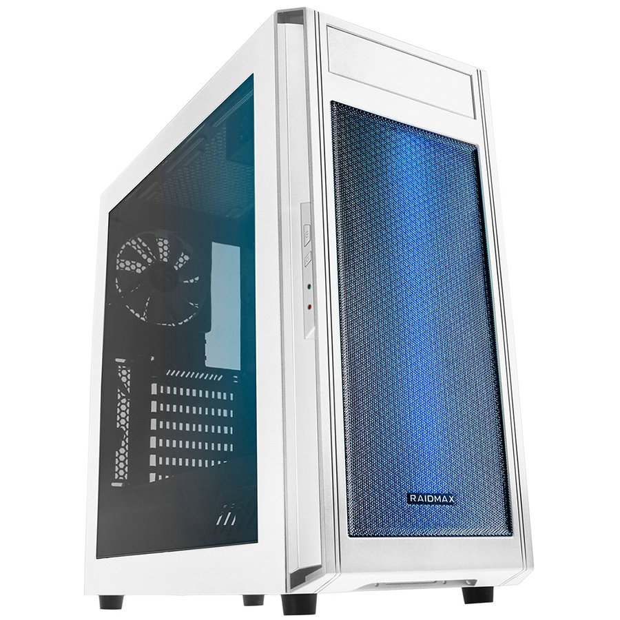 "PC Chassis RAIDMAX ALPHA_A15_WLW Chassis ALPHA A15 Tower, ATX, 7 slots, 2 X 3.5"" H.D.,2 X 2.5"" H.D,  2 x AUDIO / 2 x USB3.0, PSU Optional,3 X 120mm Front optional, 1 x 120mm Back included, White"
