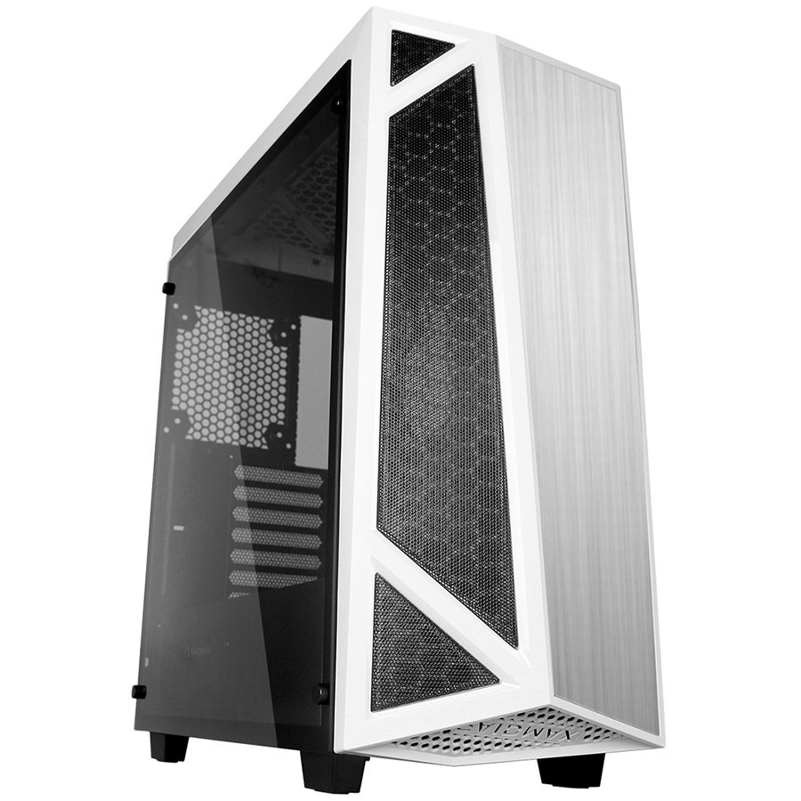 "PC Chassis RAIDMAX SIGMA_A14_TWS Chassis SIGMA A14 TWS Tower, ATX, 7 slots, 1 X 3.5"" H.D., 2X 2.5""H.D,2x 3.5""or 2.5""H.D. 2 x HD AUDIO / 2 x USB3.0, PSU Optional, 3 X 120mm fan, 1 x 120mm, 489x214x518mm, White"