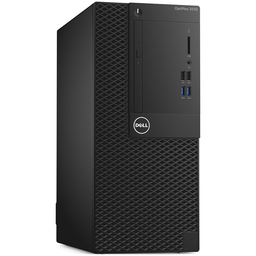 "Desktop Computer DELL S009O3050MTUCEE_UBU-14 OptiPlex 3050 MT, Core i3-7100 (DC/3MB/4T/3.9GHz/65W), 240W up to 85%(80Plus Bronze), 4GB 2400MHz DDR4, 500GB 7200rpm 3.5"", DVD-RW Drive, Intel Integrated Graphics, VGA port, Mouse+Keyboard BG, Ubuntu 16.04, 3Y"