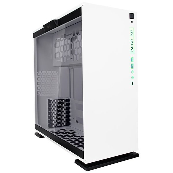 "PC Chassis IN WIN INWIN_303C_WHITE Chassis In Win 303C RGB LED Mid Tower,Tempered Glass, SECC,12""x10.7"" ATX,Micro-ATX,Mini-ITX,USB 3.1 Gen 2 Type-C 2xUSB 3.0,HD Audio,PCI-E X 7,1x120mm Rear Fan/120mm Radiator 3x120mm Top Fan/360mm Radiator 3x120mm Bottom"