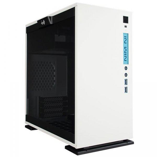 "PC Chassis IN WIN INWIN_301_WHITE Chassis In Win 301 Mini Tower,Tempered Glass,SECC,Micro-ATX, Mini-ITX,2xUSB 3.0,HD Audio,2x120mm Front Fan/240mm Radiator,1x120mm Rear Fan/120mm Radiator,2x120mm Bottom Fan(Occupy a PCI-E slot),PCI-Ex4,1x3.5""/2.5,2x2.5"",w"