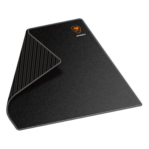 Gaming Accessories COUGAR GAMING CG3PSPEMBBRB50002 COUGAR SPEED 2-M Gaming Mouse Pad, Width (mm/inch)-320/12.6, Length (mm/inch)-270/10.6,Surface Material-Cloth,Surface Color-Black,Base Material-Natural Rubber,Base Color-Black