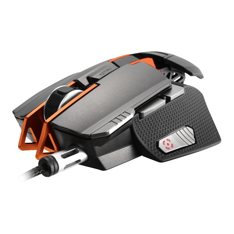 Input Devices - Mouse Box COUGAR GAMING CG3M700WLO1701 COUGAR 700M Superior Mouse,12 000 DPI,32-bit ARM Cortex-M0,On-board memory 512KB,Aluminum/Plastic,Software COUGAR UIX System,8 Programmable buttons,Cable Length 1.8m Braided