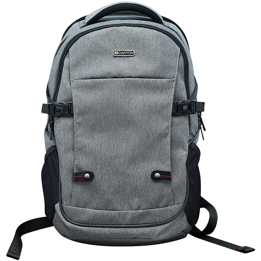 "Carrying Case CANYON CNE-CBP5G8 Fashion backpack for 15.6"" laptop, gray"