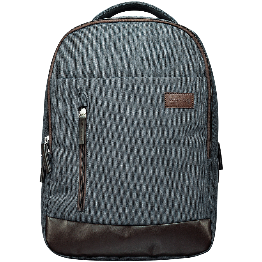 "Carrying Case CANYON CNE-CBP5DG6 Fashion backpack for 15.6"" laptop, dark gray"