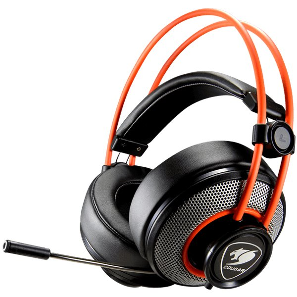 Multimedia - Headset COUGAR GAMING CG3H300P40B0001 COUGAR HEADSET IMMERSA,High quality stereo sound,Automatic Omni-Directional Adaptative ear shells,Retractable microphone,40mm Neodymium magnet driver,100mm extra-large ear pads,4 pole to 3 pole adapter fo