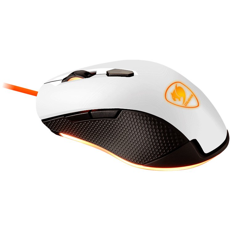 Input Devices - Mouse Box COUGAR GAMING CG3MMX3WOW0001 COUGAR MINOS X3 WHITE Gaming Mouse,PMW3310 Optical gaming sensor,400/800/1600/3200 DPI,Game type-FPS/MOBA/RTS,OMRON gaming switches,3 zone backlight,Frame rate-6500 FPS,Cable Length 1.8m,usb