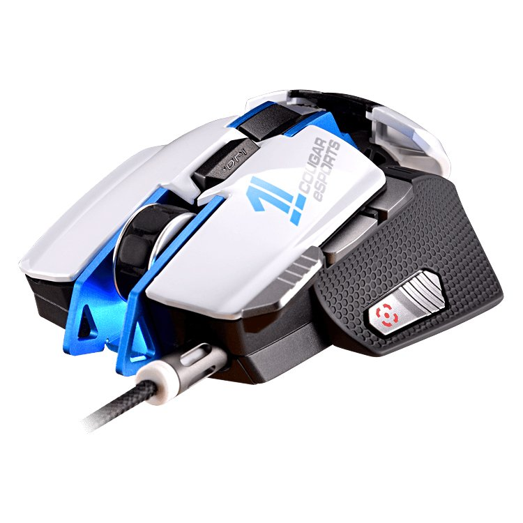 Input Devices - Mouse Box COUGAR GAMING CG3M700WLW0001 COUGAR 700M eSPORTS gaming mouse,8200 DPI,32-bit ARM Cortex-M0,On-board memory 512KB,Aluminum/Plastic,Software COUGAR UIX™ System,OMRON gaming switch,8 Programmable buttons,Frame rate 12000 FPS,Cable