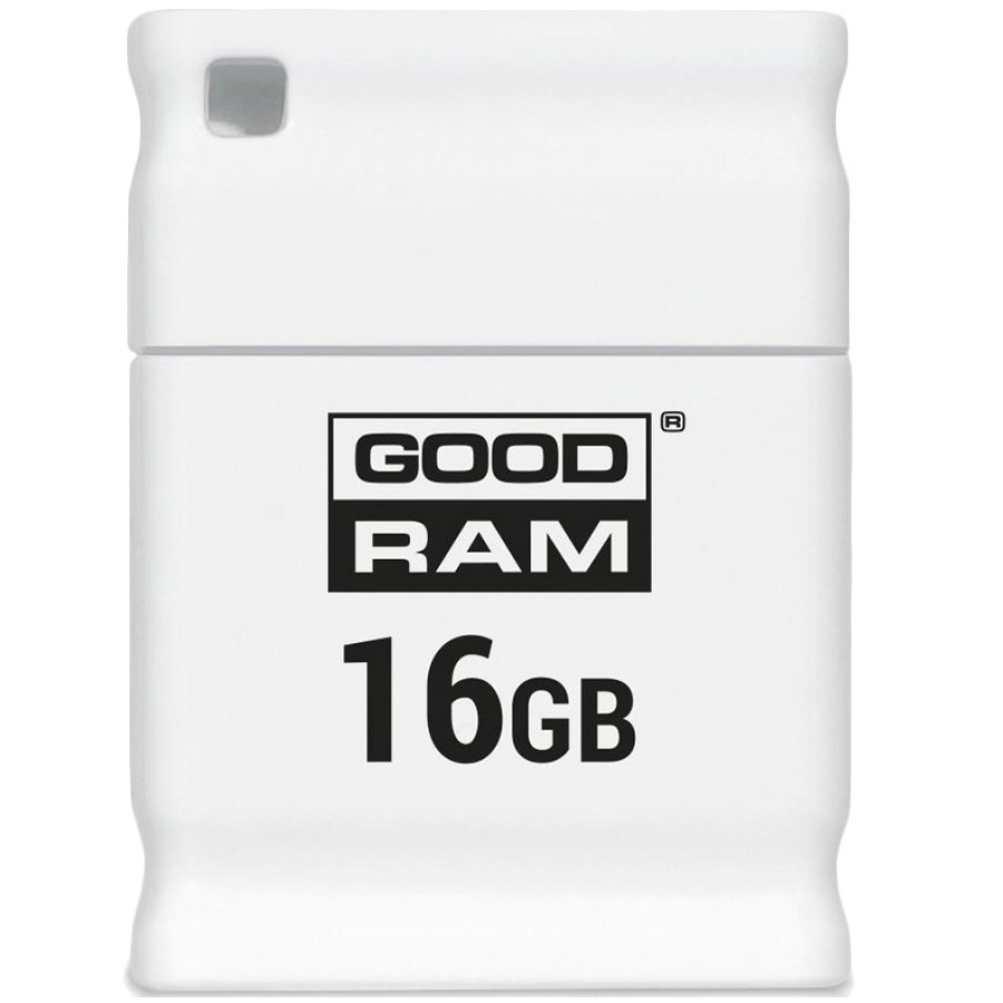 Memory ( USB flash ) GOODRAM UPI2-0160W0R11 GOODRAM USB 2.0; 16GB; white; Read:20MB/s; Write:5MB/s