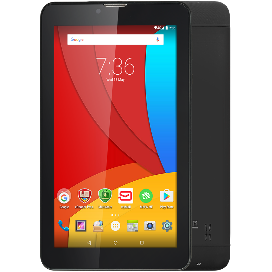 PC Tablet PRESTIGIO PMT3407_4G_C MULTIPAD Wize 3407 4G, PMT3407_4G_C,Single Standard-SIM,have call function, 7'' WSVGA(600*1024)IPS display,1.0GHz quad core processor,android 5.1,1GB RAM+8GB emmc,0.3MP front camera+2MP rear camera, 2800mAh battery.