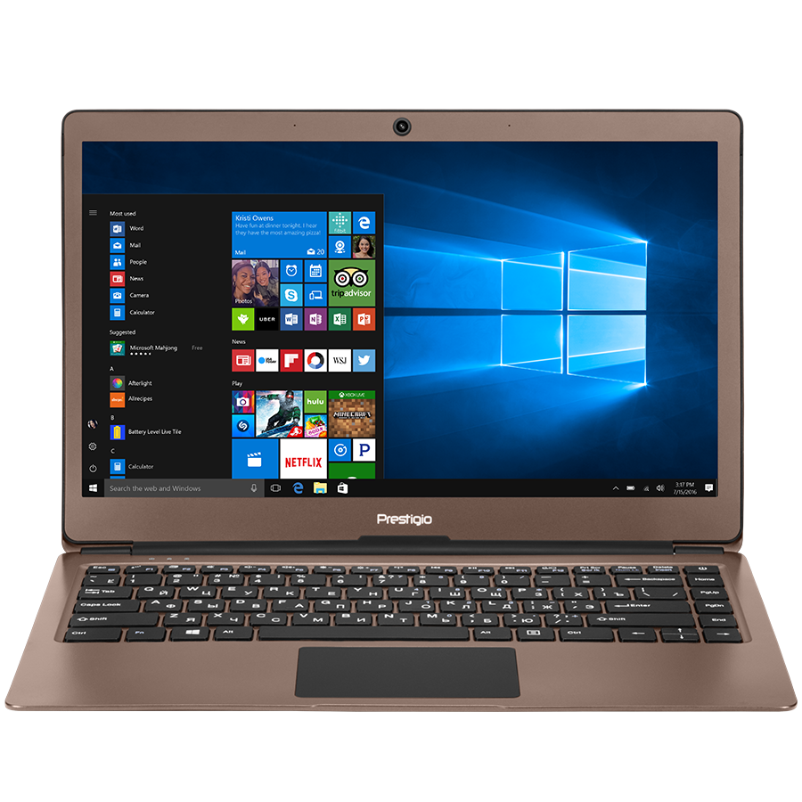 "PC Notebook Consumer PRESTIGIO PSB133S01ZFH_DB_BG Prestigio SmartBook 133S, 13.3""(1920*1080) IPS (anti-Glare), Windows 10 Home, up to 2.4GHz DC Intel Celeron N3350, 3GB DDR, 32GB Flash, BT 4.0, WiFi, Micro HDMI, SSD slot (M.2), 0.3MP Cam, EN+BG kbd, 5000m"