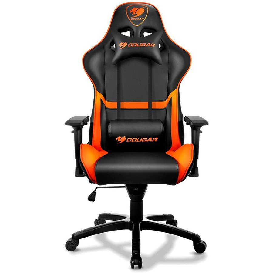 Gaming Accessories COUGAR GAMING CG3MGC1NXB0001 COUGAR Armor Gaming Chair, Piston Lift Height Adjustment,180º Reclining,Adjustable Tilting Resistance,3D Adjustable Arm Rest,Full Steel Frame,Ultimate Quality: Class 4 Gas Lift Cylinder