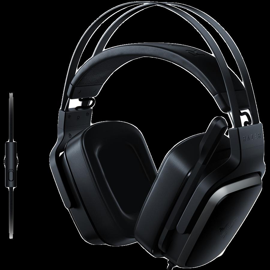 Multimedia - Headset RAZER RZ04-02080100-R3M1 Razer Tiamat 2.2 V2 - Analog Gaming Headset,Multiplatform compatibility,4 x 50 mm drivers, Foldable unidirectional microphone ,In-line volume control, 3.5 mm combined audio jack