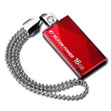 Memory ( USB flash ) SILICON POWER SP016GBUF2810V1R SILICON POWER 16GB USB 2.0 Touch 810 Red