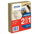 Хартия Epson Premium Glossy Photo Paper, 100 x 150 mm, 255g/m2, 80 Blatt