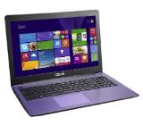 "Лаптоп Asus X553SA-XX082D, Intel Pentium Quad-Core N3700 (up to 2.4GHz, 2MB), 15.6"" HD (1366x768) LED Glare, Web Cam, 4096MB DDR3 1600MHz, 1TB HDD, Intel HD Graphics (Braswell), SD Card, BT4.0, DOS, Purple"